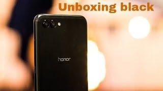 Honor view 10 Unboxing black colour