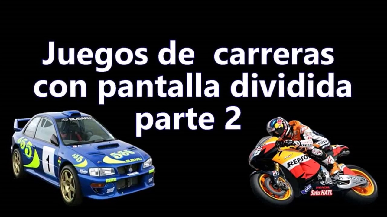 Juegos De Carreras Con Multijugador Local Ps3 Y Xbox 360 2 Youtube