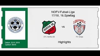 CFC Hertha 06 - FK Srbija (Highlights)