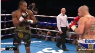 Anthony  The Next Nigel Benn  Yarde knockout (Round 1)