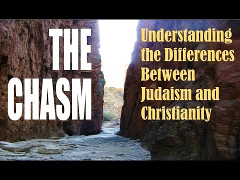 CHASM BETWEEN JUDAISM + CHRISTIANITY (Reply2 one for israel messianic jews for jesus rabbi schneider