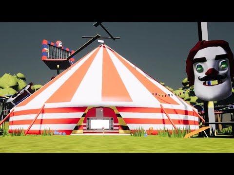 Nightmare Circus  | Hello Neighbor Mod