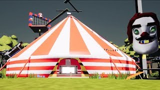 Nightmare Circus  | Hello Neighbor Mod