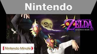 Nintendo Minute – The Legend of Zelda: Majora's Mask 3D Reactions