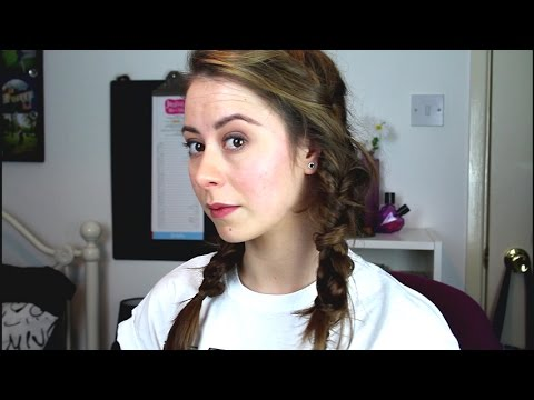 Messy Pigtails | Braided and Knotted | Festival Hair