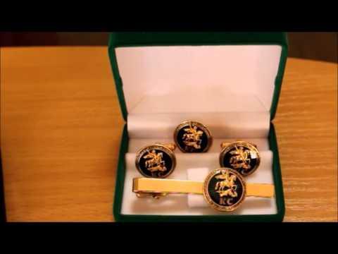Объявление о продаже стильные золотые запонки с ониксом в москве на avito.
