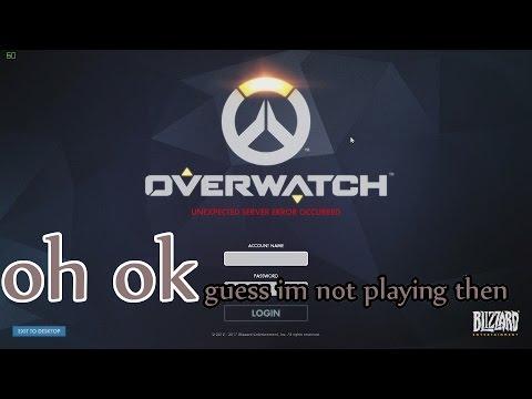 unexpected server error