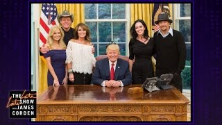 Sarah Palin Finally Made it to the Oval Office