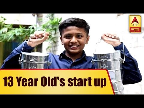 13-Year-Old Mumbai Boy Partners With Dabbawalas For Courier Startup | ABP News