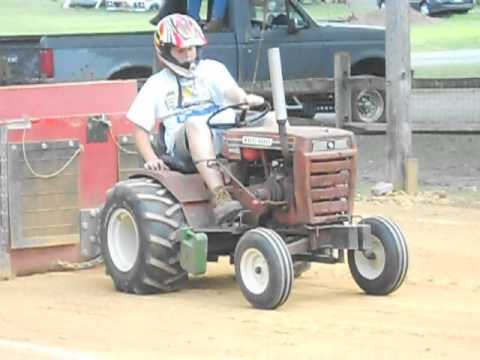 how to build a tractor pulling sled
