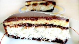 """торт """"баунти""""- райское наслаждение!"""