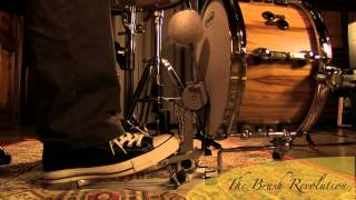 12x7 Sonor Minibassdrum played with a VicKick Feltbeater