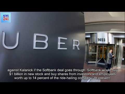 Uber nears deal for huge Softbank investment