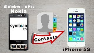[Symbian to iPhone 5S: Contacts Transfer] Copy All Contacts from Symbian to iPhone 5S