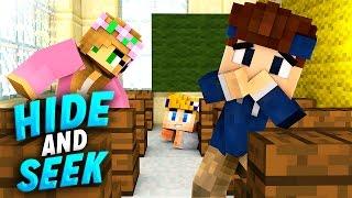 UNSER ERSTER SCHULTAG!! | Minecraft Hide and Seek