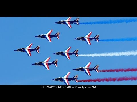 Patrouille de France - Alpha Jets @ Rome International Air Show 2014