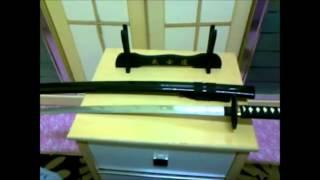 Rurouni Kenshin Live Action Sakabatou Replica Katana