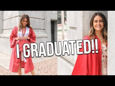 I GRADUATED FROM COLLEGE!!! I am now an actual engineer!! | Natalie Barbu