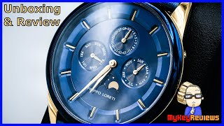 Filippo Loreti: Venice Moonphase Watch | Unboxing & Review | MyKeyReviews