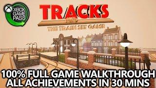 Tracks: Train Set Game - 100% Achievement Walkthrough (on Xbox Game Pass) - (30 Mins / EASY) / Видео