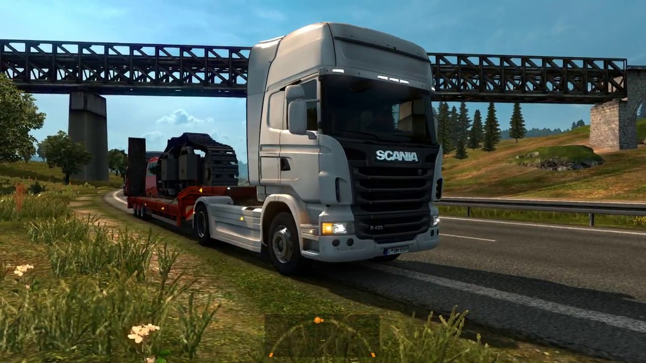 euro truck simulator 2 von deutschland nach schweden kassel helsingborg schwerlasttransport. Black Bedroom Furniture Sets. Home Design Ideas