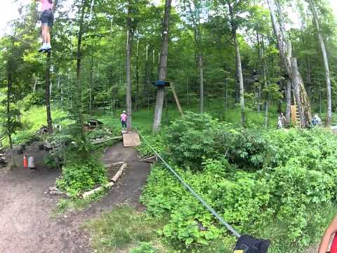 Treetop Trekking Horseshoe Valley Adventure Park