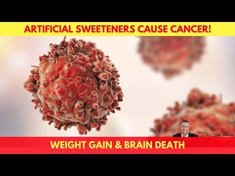 🍬Artificial Sweeteners Cause Weight Gain, Cancer & Brain Death