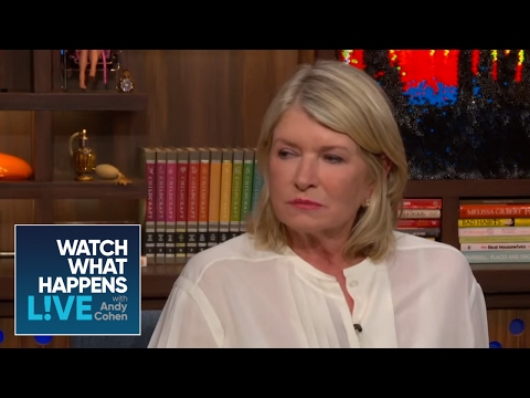 Martha Stewart Dishes on Donald Trump and 'The Apprentice' | WWHL