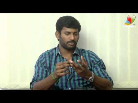 Vishal Interview | Pandianadu | MGR |...