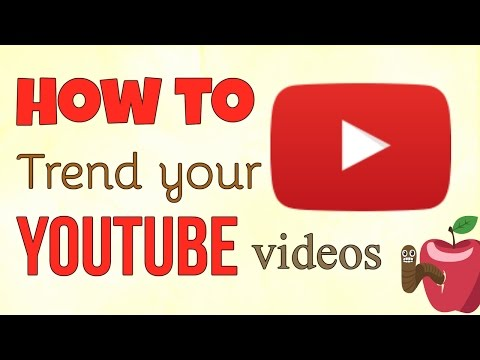 How To Trend Your YouTube Videos | 5 Steps To Trend Videos.