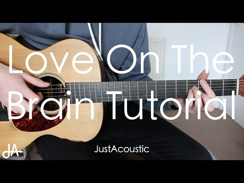 How To Play: Love On The Brain - Rihanna (Guitar Tutorial Lesson)