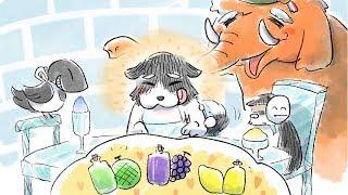 【公式】岩居由希子が読む絵本⑥「おめん猫とオレンジマンモス」