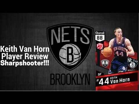 Nba2k17 Ruby Wingman Keith Van Horn Player Review!!!