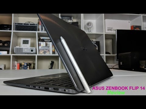 Asus Zenbook Flip 14 Review - Thinnest 2-1 with dedicated Graphics.