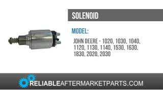 AL55046 John Deere NEW Starter Solenoid 1020 1030 1040+