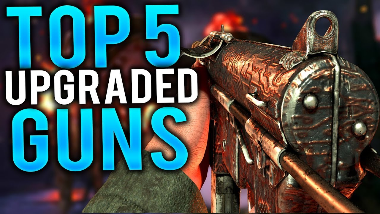 Top 5 BEST Guns To Pack-A-Punch On The Final Reich (Call of Duty WW2  Zombies)