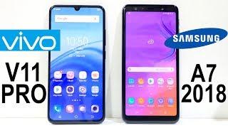 Samsung Galaxy A7 (2018) VS Vivo V11 Pro Speed Test