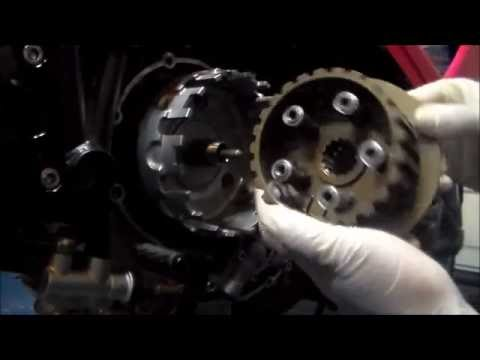 ducati 848 yoyodyne slipper clutch removal inspection and