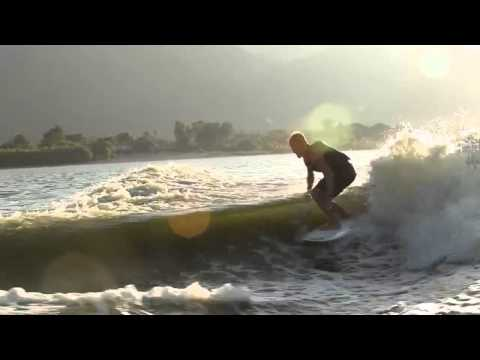 Josh Kerr and Family Wakesurfing