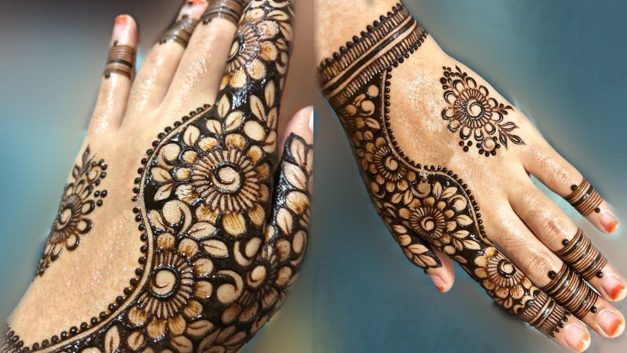 Hand Mehndi Designs For Unique: Latest Mehndi Design For Back Hand 2019