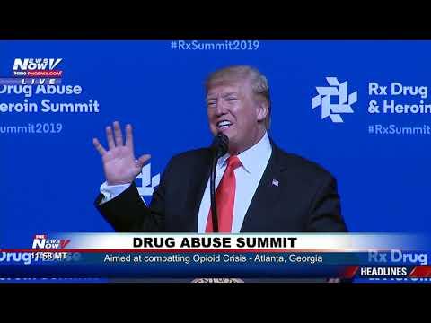 OPOIOID CRISIS: President Trump Drug Abuse Summit Speech