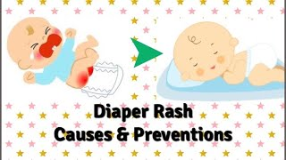 Diaper Rash in babies reasons and preventions