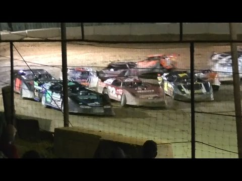 ULMS Super Late Model Feature   Bradford Speedway   8th Annual Stephanie Eckl Memorial   9-9-12