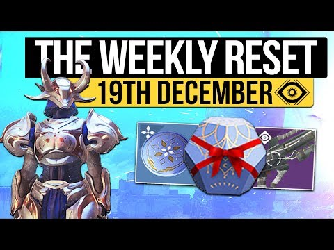 Destiny 2 | THE DAWNING BEGINS! - Reset, New Milestones, Eververse Loot & Nightfall! (19th December)