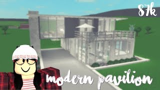 Roblox: Welcome to Bloxburg | Modern Pavilion (87k)