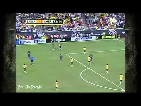 Messi Vs Club America (Away) 06-07