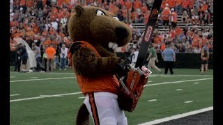 Oregon State football's Turnover Chainsaw takes center stage once again