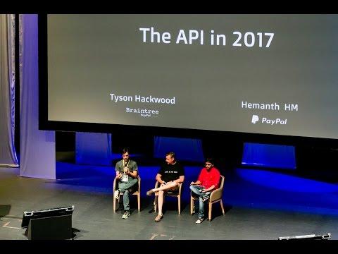The API in 2017