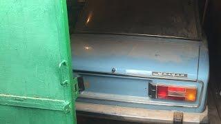 """Новая """"шестерка"""" ВАЗ-2106, простоявшая 25 лет в гараже, капсула времени. Часть 1 Lada Barnfind"""