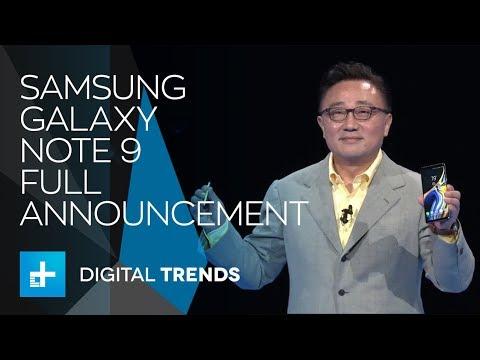 Samsung Galaxy Note 9 - Full Announcement